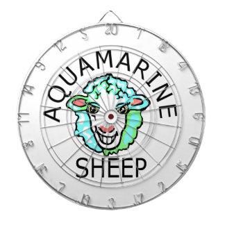 Be Original- Aquamarine Sheep Dartboard With Darts