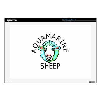 Be Original- Aquamarine Sheep Laptop Decal