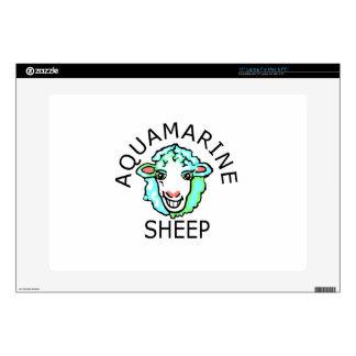 Be Original- Aquamarine Sheep Laptop Decals