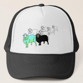 Be Original- Aquamarine Sheep Trucker Hat