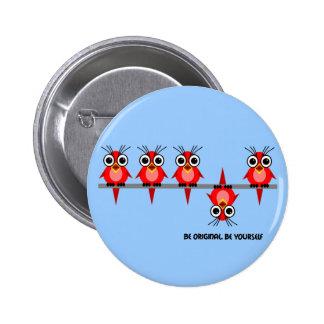 be original pinback buttons