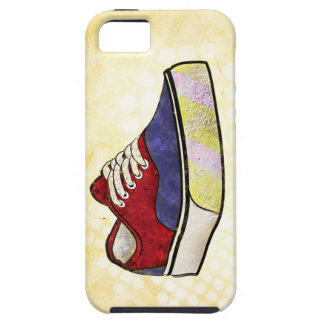 Be Original - Depiction of a Classic Surf Sneaker iPhone SE/5/5s Case