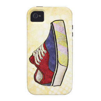 Be Original - Depiction of a Classic Surf Sneaker Vibe iPhone 4 Cover