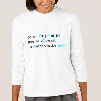 be original.... ONE OF A KIND (black & aqua) T-Shirt