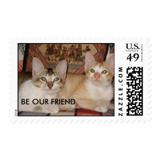 BE OUR FRIEND STAMPS