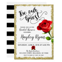 429c1389d41 Be Our Guest Bridal Shower Invitation