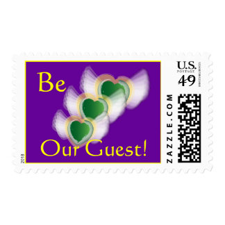 Be Our Guest! Postage-Customize Postage