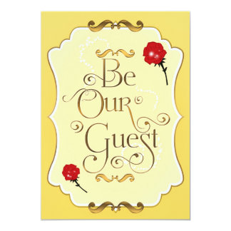 Be Our Guest Cards