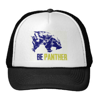 be panther.png trucker hat
