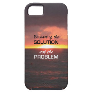 Be Part of the Solution iPhone 5 Case