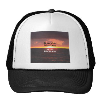 Be Part of the Solution Trucker Hat