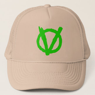Be part of the Vegan Revolution. Wear the logo! Trucker Hat