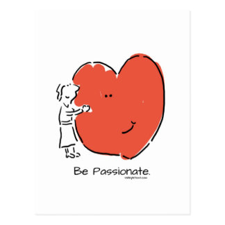 Be Passionate Postcard