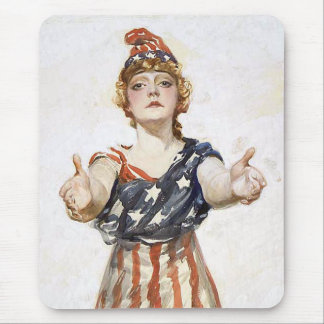 Be Patriotic-1917 Mouse Pad