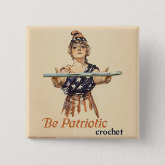 Be Patriotic: Crochet - button