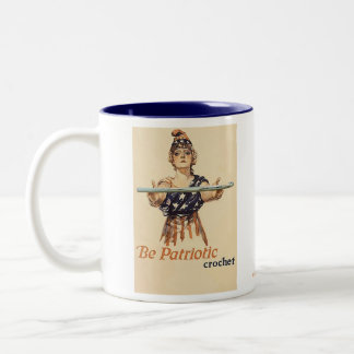 Be Patriotic: Crochet - mug
