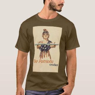Be Patriotic: Crochet - unisex tee