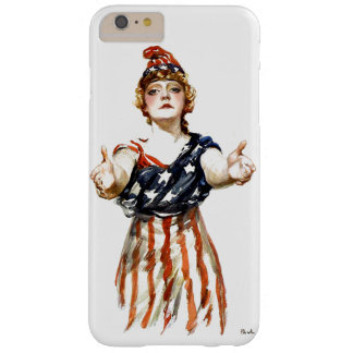 """""""Be Patriotic"""" WWI Lady Liberty Barely There iPhone 6 Plus Case"""
