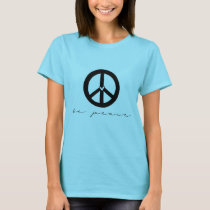 Be Peace Sign T-Shirt