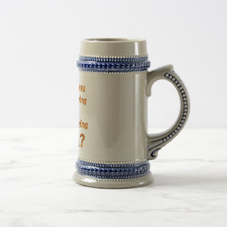 Be Pizza Beer Stein