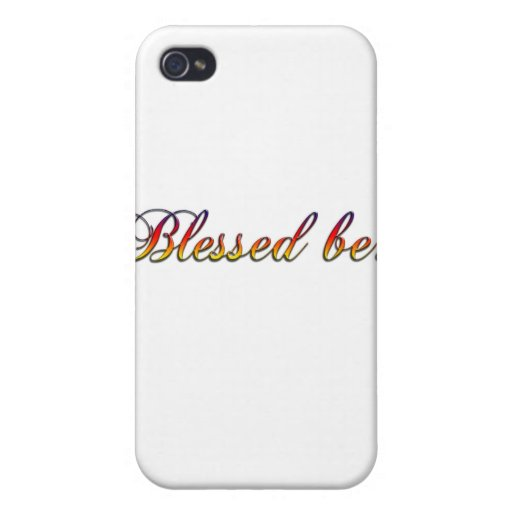 be.png bendecido iPhone 4/4S funda
