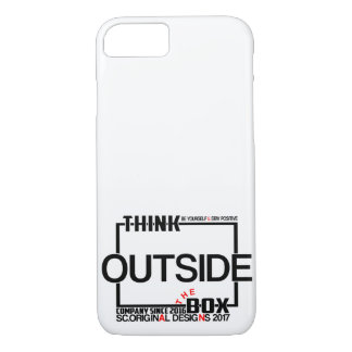 BE positive and take your chances iPhone 8/7 Case