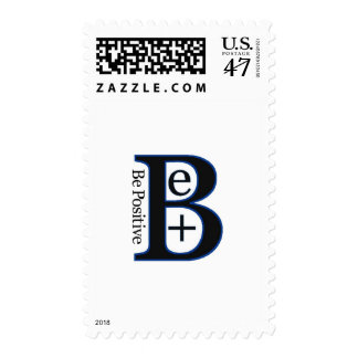 Be Positive Second Design Postage