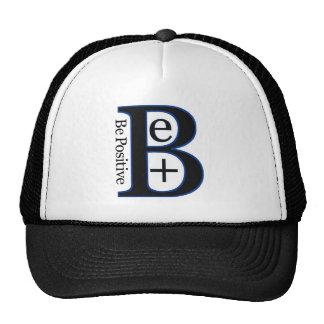Be Positive Second Design Trucker Hat