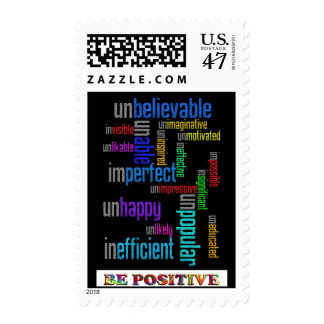 Be Positive Stamp