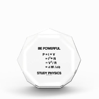 Be Powerful (Power Equations) Study Physics Award