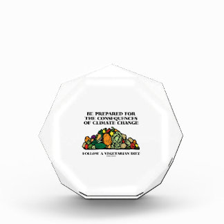 Be Prepared Consequences Climate Change Vegetarian Award