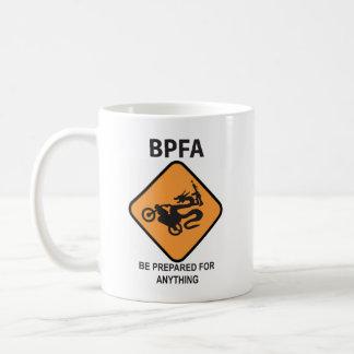 Be Prepared For Anything (Armed biker dragon) Coffee Mug