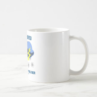 Be Prepared For Inclement Weather (Storm Clouds) Classic White Coffee Mug