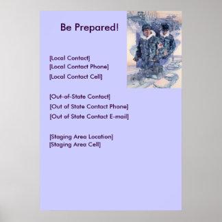 Be Prepared! Poster