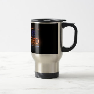 Be prepared. travel mug