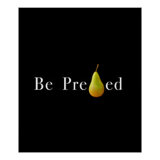 Be PREpearEd  Poster