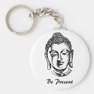 Be Present Keychain