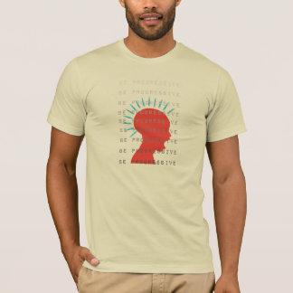 Be Progressive Red Head Shirt