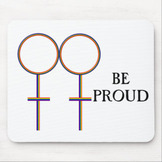 Be Proud Gay Mouse Pad