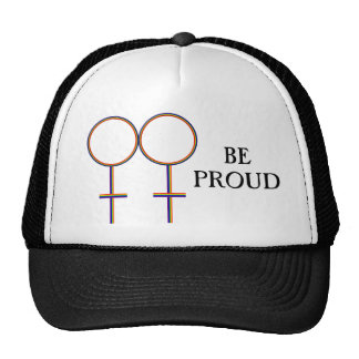 Be Proud Gay Trucker Hat