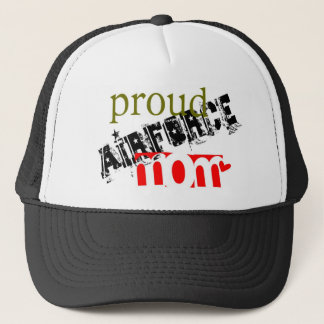 Be proud of being an airforce mom trucker hat