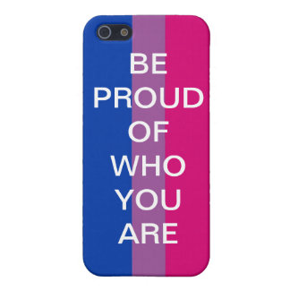 BE PROUD OF WHO YOU ARE COVER FOR iPhone SE/5/5s