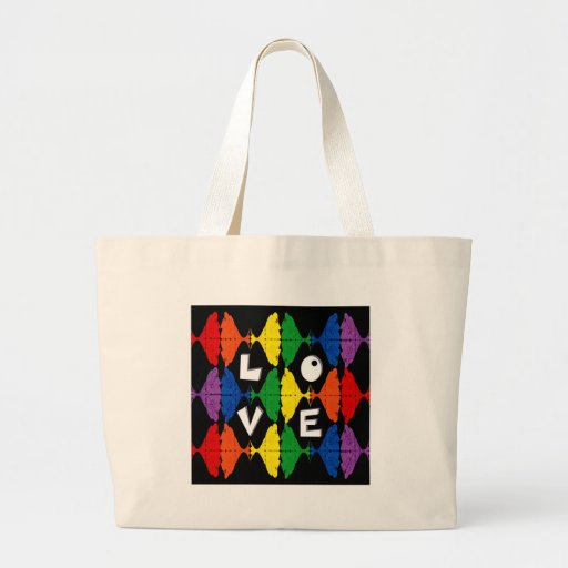 Be Proud of who you are Jumbo Tote Bag