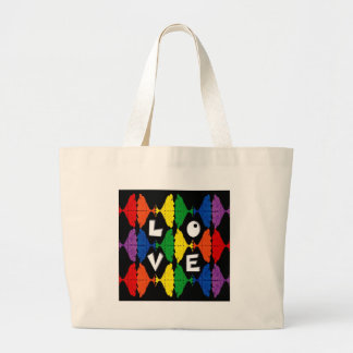 Be Proud of who you are Large Tote Bag