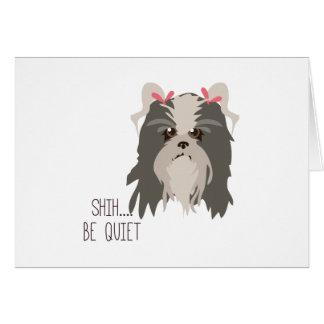 Be Quiet Cards