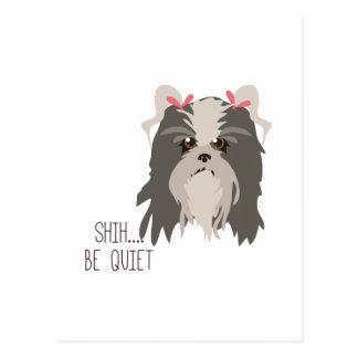 Be Quiet Postcards