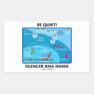 Be Quiet Silencer RNA Inside Molecular Biology Stickers