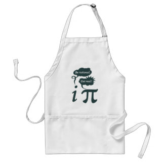 be rational! get real! adult apron
