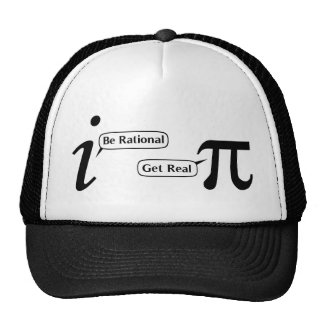Be Rational Get Real Trucker Hat