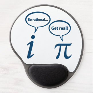 Be Rational Get Real Imaginary Math Pi Gel Mouse Pad